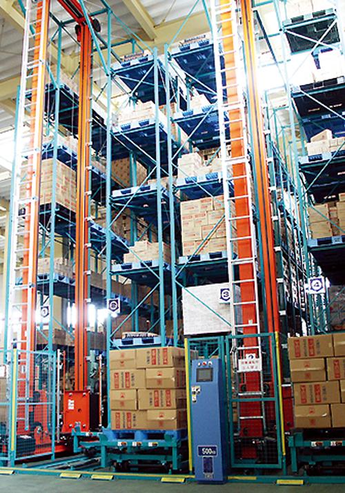 ユニット式立体自動倉庫